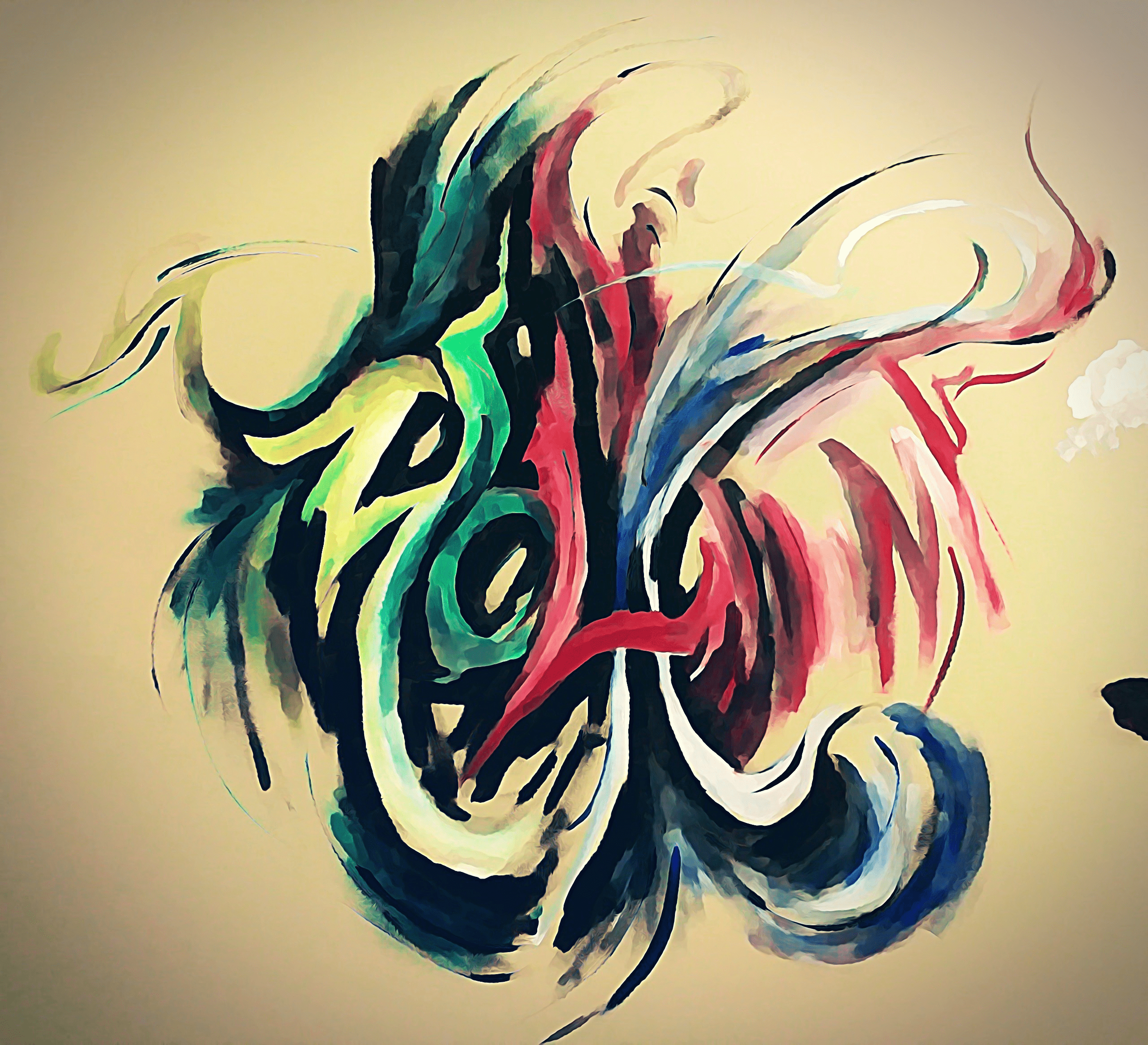 A very random painting that I did.