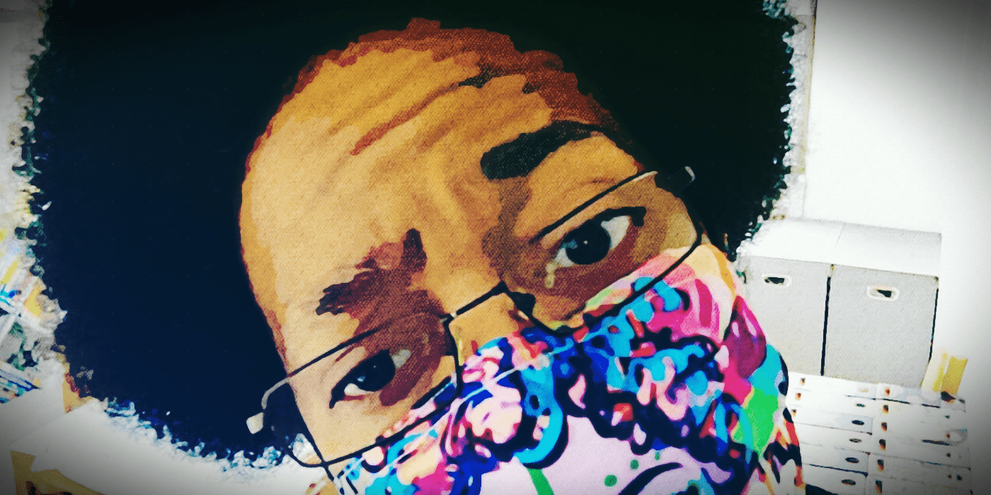 A graphically altered header image of me - Johnnie Weathersby III