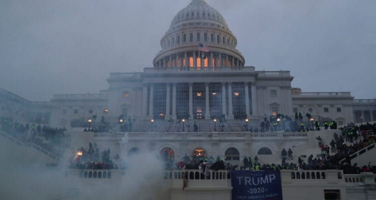 US Capitol vandalisms by Pro-Trump supporters complaining about voter fraud in the US elections. Washington, Jan.06, 2021