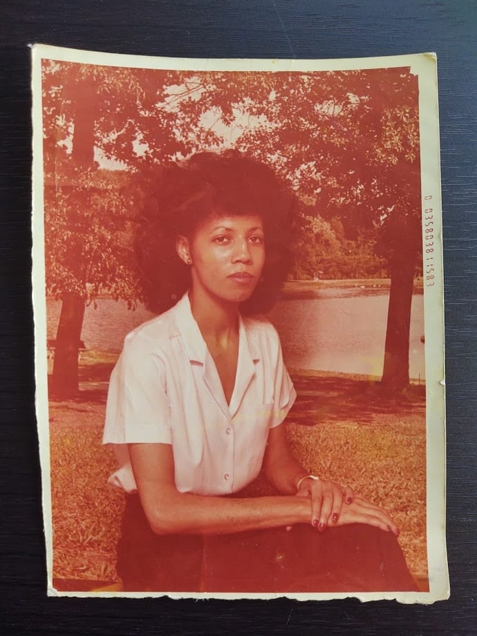 I wasn't even around yet (my mom as a young woman).