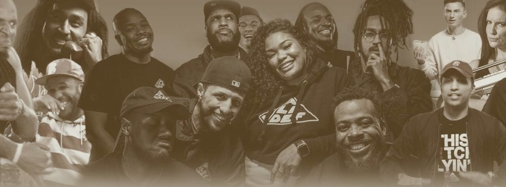 All Def Digital Facebook Banner Head showing all of their usual roster of comedians.