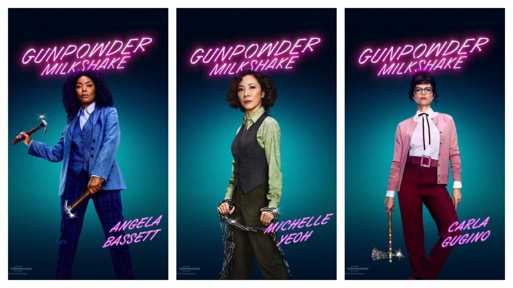 Supporting Cast character posters.